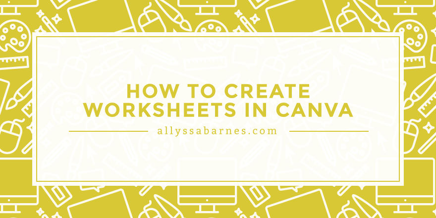 Content upgrades are a great way to increase traffic to your blog. Learn how to create worksheets and workbooks in Canva that you can use to grow your blog.