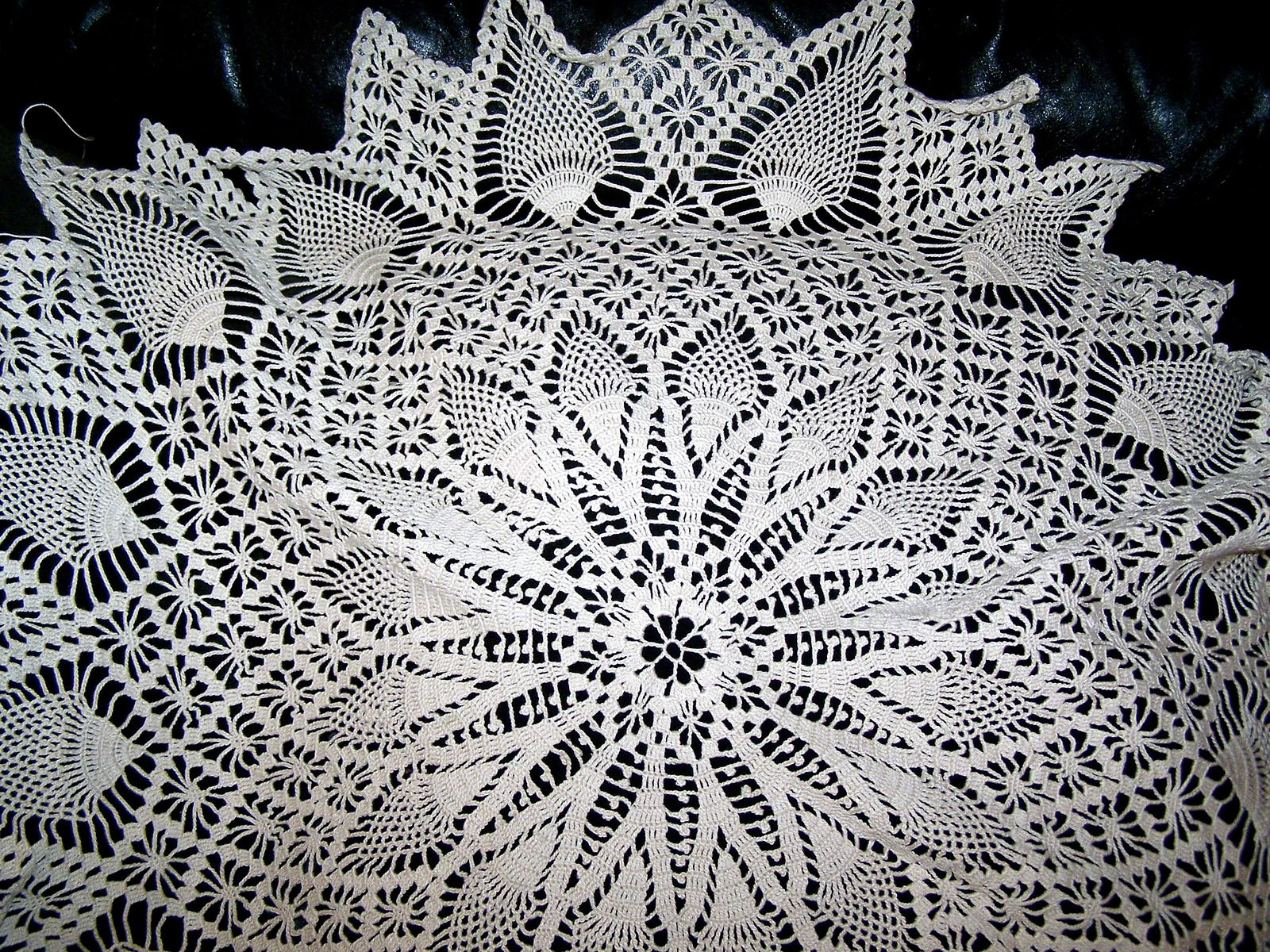 Ravelry: Pineapple and Spider Web #7520 pattern by Alice Brooks ...