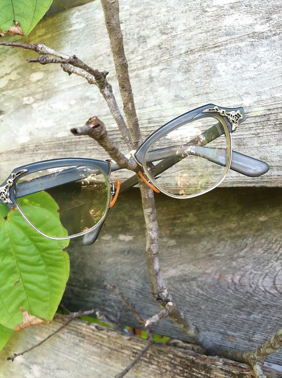 Vintage cateye glasses/ Bausch and Lomb by INTUITIONVINTAGE, $50.00