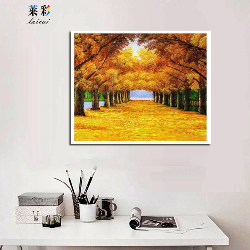 Modern Landscape Canvas Art Print Painting Post Wall Picture For ...