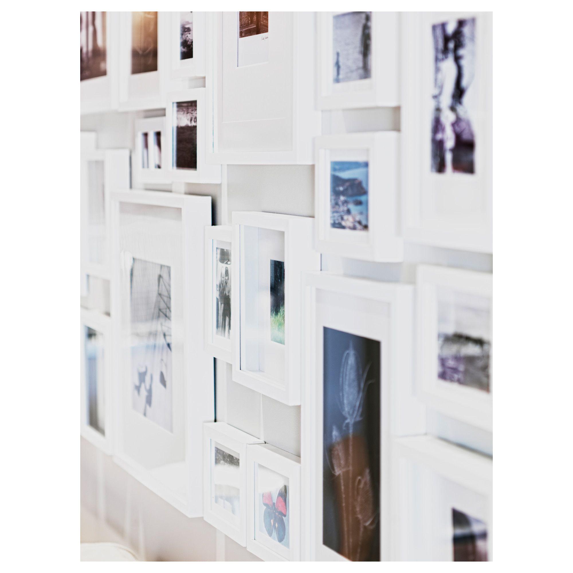 Cuadros Grandes De Ikea.Ikea Ribba Frame White Gallery Wall Ideas Ikea Hogar Tiendas