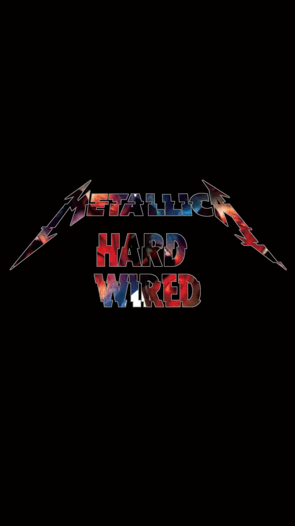 "Wallpaper android 5"" metallica hardwired MetallicA"