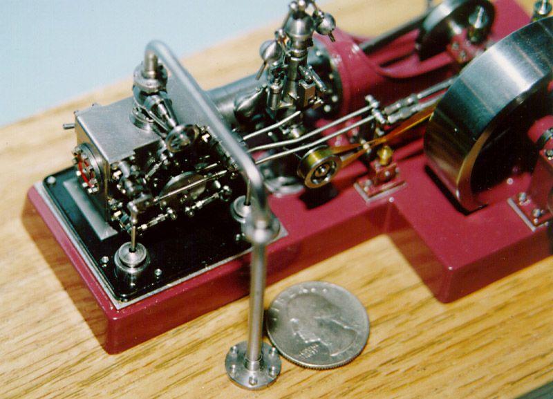 bill huxhold 39 s model of a corliss steam engine. Black Bedroom Furniture Sets. Home Design Ideas