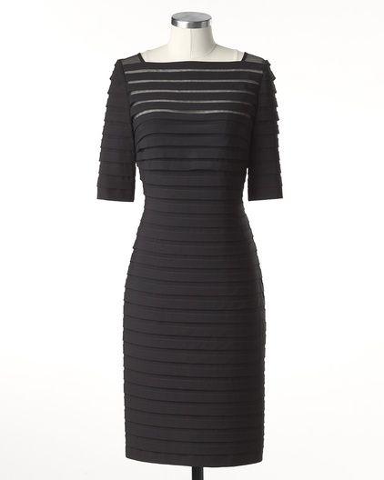 Urban Soiree Dress $99.99  coldwatercreek.com