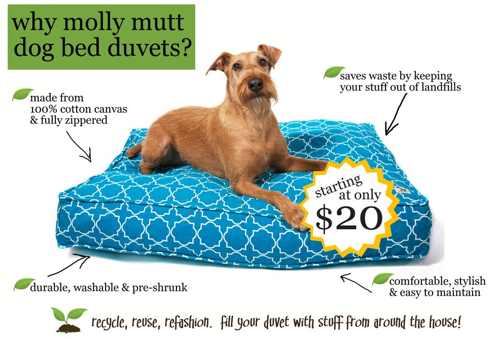 Genius Idea A Dog Bed Duvet That You Can Stuff With Your