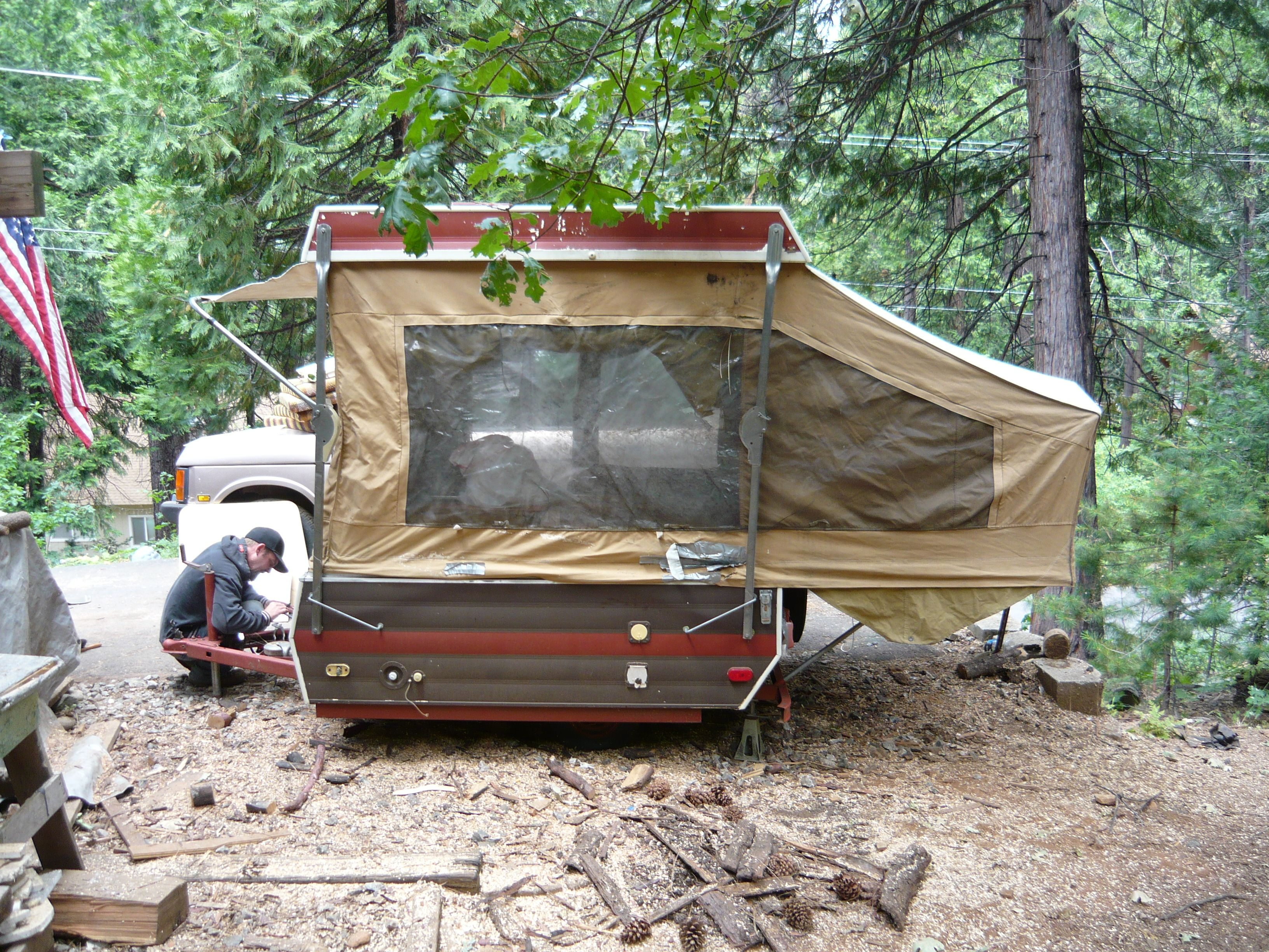 1980 Viking Pop Up Camping Trailer Great Trailer For 1 Or 2
