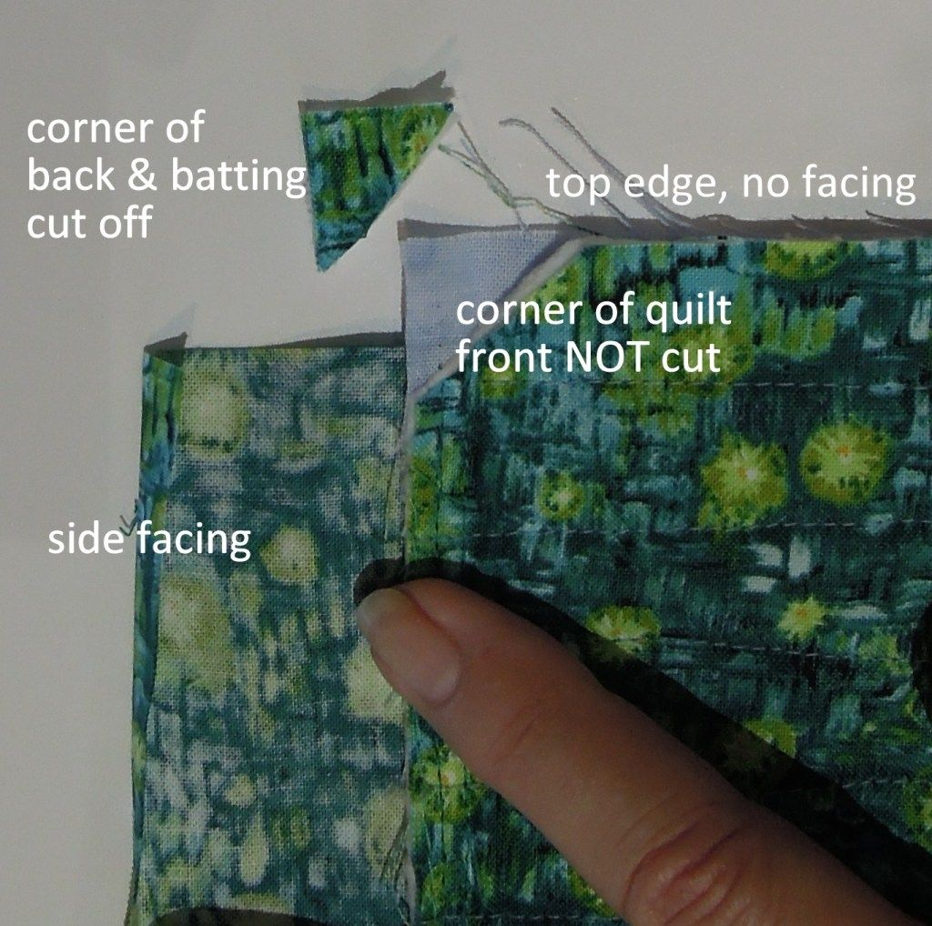 My NEW Favorite Quilt Facing Technique