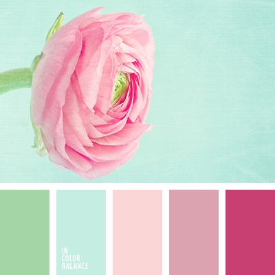 Pink Complementary Color complementary color palettes | color palettes | pinterest | color