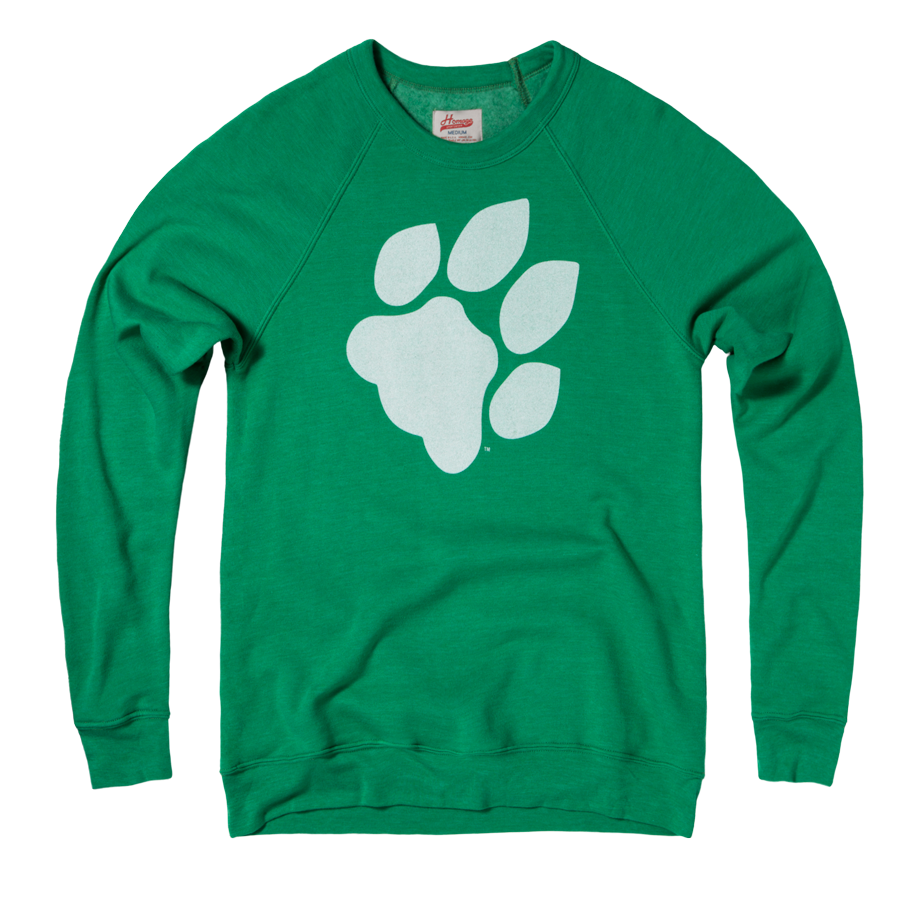 Homage Ohio University Pawprint Crewneck Sweatshirt 25 00 Vintage Outfits Sweatshirts Tee Shop [ 900 x 900 Pixel ]