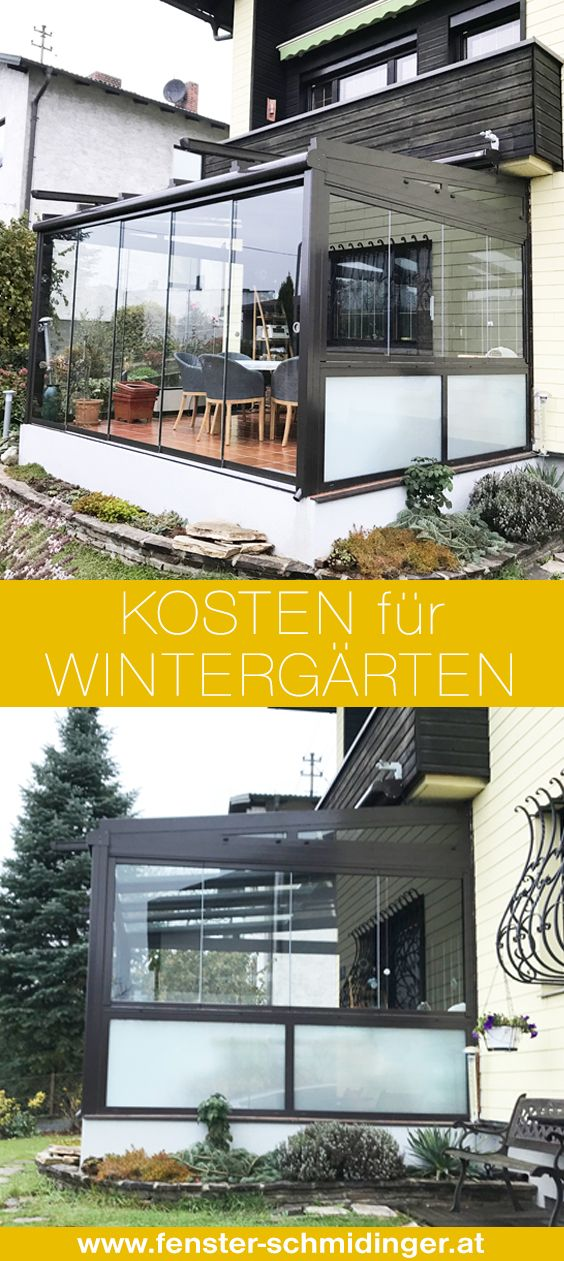 Wieviel kostet ein Wintergarten? | Verglasungen // Balkon, Terrasse ...