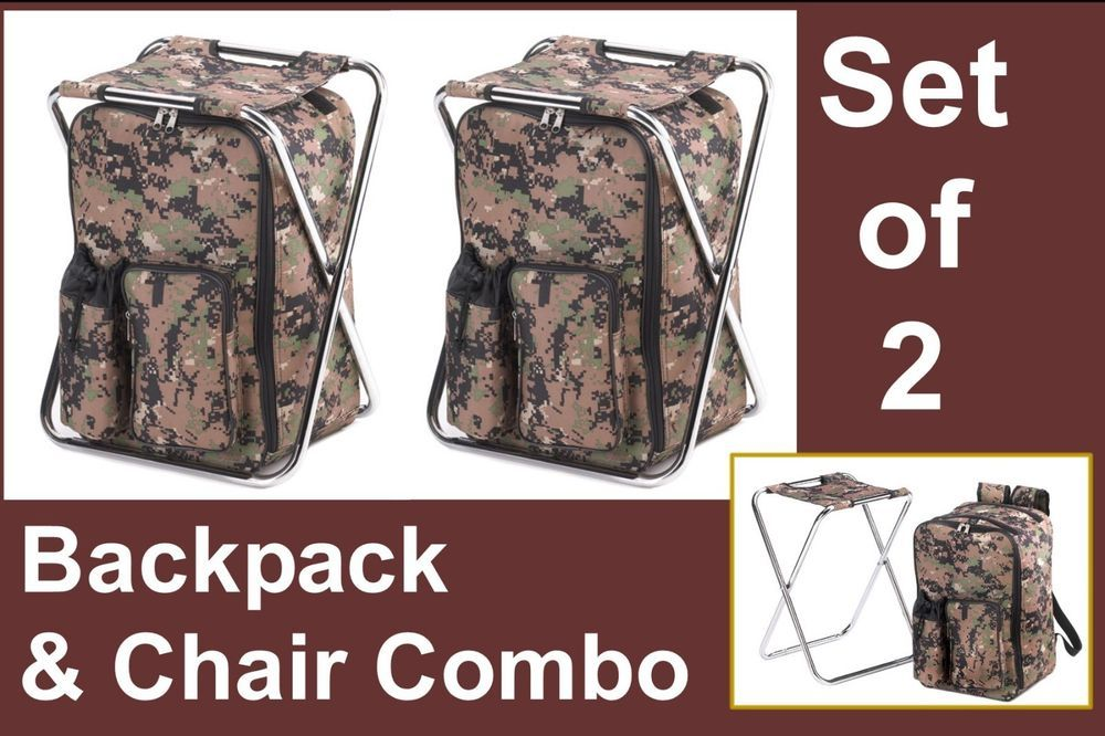 54.95 & Free shipping! SET OF 2 BACKPACKS AND CHAIR