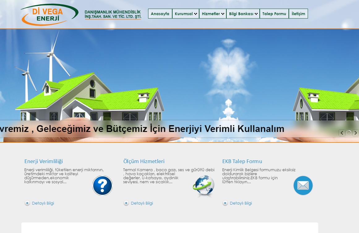 www.divegaenerji.com enerji kimlik belgesi, ölçüm hizmetleri, enerji etüdü