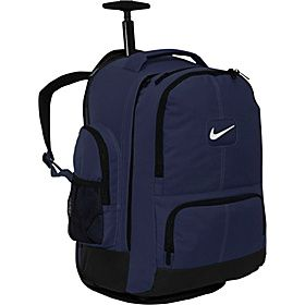 Nike Swoosh Rolling Laptop Backpack I Chose This One For Nursing