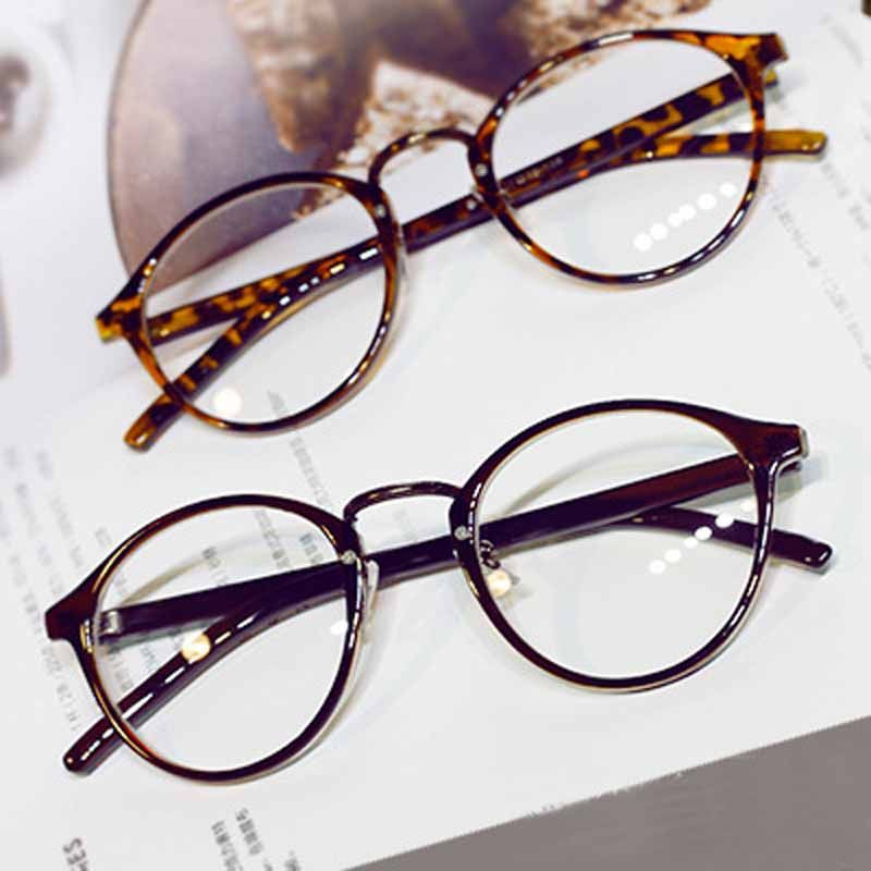 ANEWISH Round Eyes Glasses Frame Men Women Ultra Light Vintage Myopia Eyeglasses Frame Plain Lens oculos de grau femininos #Affiliate