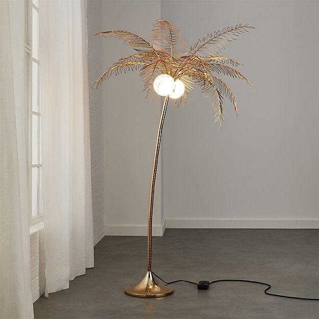 Ocean Palm Floor Lamp in 2020 | Tree floor lamp, Floor ...