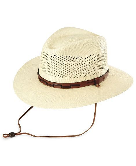 6bf6557db8f Stetson Airway UV Protection Straw Hat good for summertime
