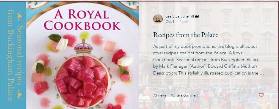 As Part Of My Book Promotions This Blog Is All About Royal Recipes