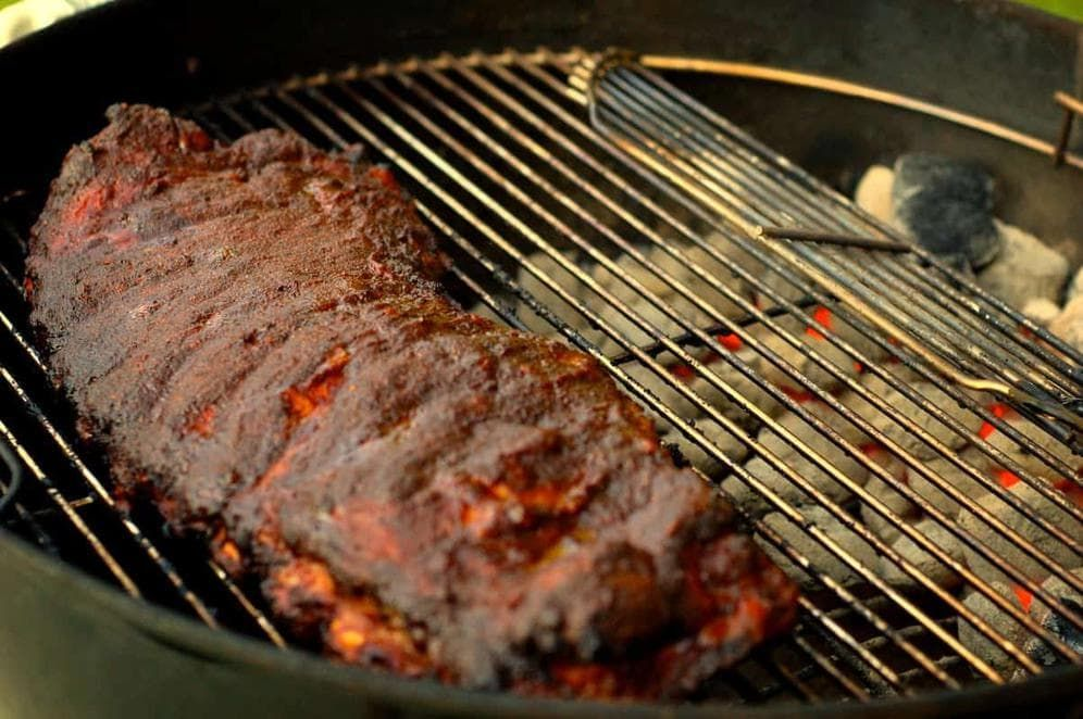Bbq ribs on a weber grill an easy howto recipe recipe