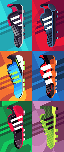 finest selection 0c90d 4d50d SOCCERBIBLE ADIDAS - Daniel Nyari Graphic Design  Illustration PLAYMAKERS  - Daniel Nyari Graphic Design