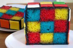 RUBIK CUBE - PARTY / BIRTHDAY - CAKE - rubiks-cube-cake - 17
