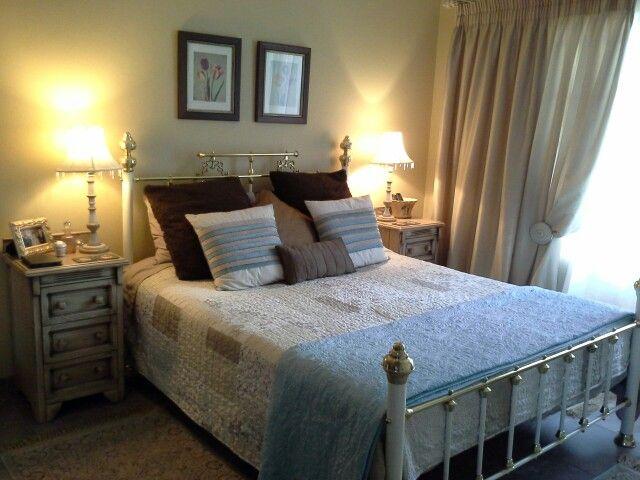 teal gold and brown bedroom 2martie van niekerk