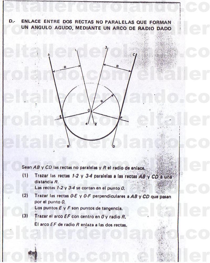 Trazado De Lineas Y Figuras Geometricas 41 Copia Clases De Dibujo Tecnicas De Dibujo Tangencias
