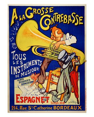 Pin by Liza Patty on Tubas | Music, Vintage posters, Vintage