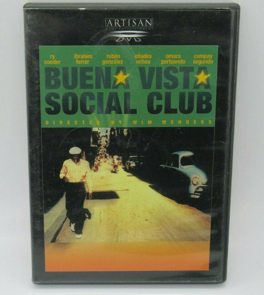 Buena Vista Social Club Dvd Ry Cooder Ruben Gonzalez Eliades Ochoa Omara Fs Book Cover Social Club Books