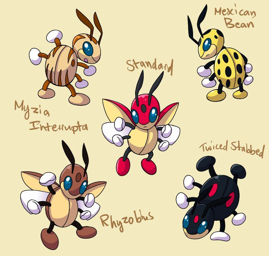Pokemonsubspecies Ledian By Coolpikachu29 On Deviantart Evolution