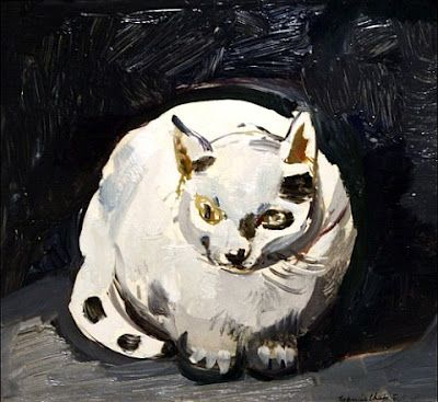 Figaro  (the cat) | oil  painting, 1945  | Francis    CHAPIN