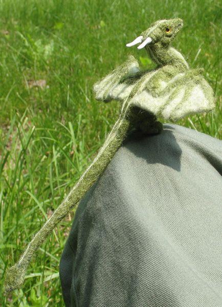 Stunning Needle Felted Dragon | Make: