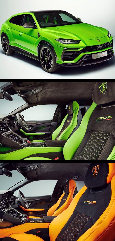 2021 Lamborghini Urus Suv Interior Mobil Sport Mobil
