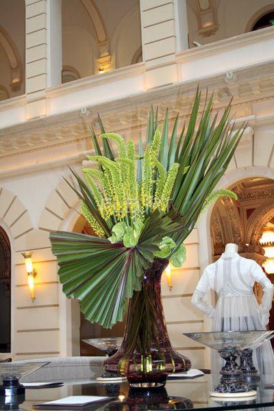 Hotel Flower Decoration Lobby 8