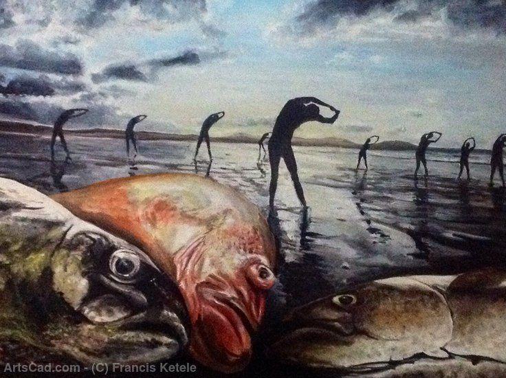 Произведения Искусства >> Francis Ketele >> Рыба