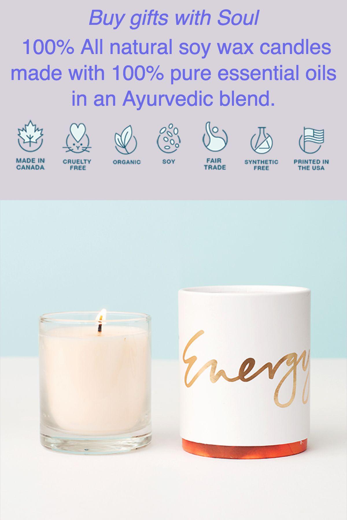 Energy moves kapha dosha votive candle gift ideas pinterest