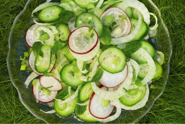 Cucumber Salad Recipe Passover
