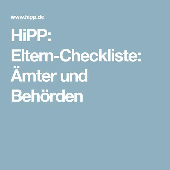 Baby Checkliste ämter