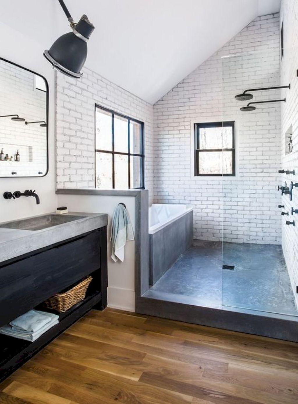 Photo of 50 erstaunliche kleine Master-Badezimmer Dusche umgestalten Ideen und Design – 9…