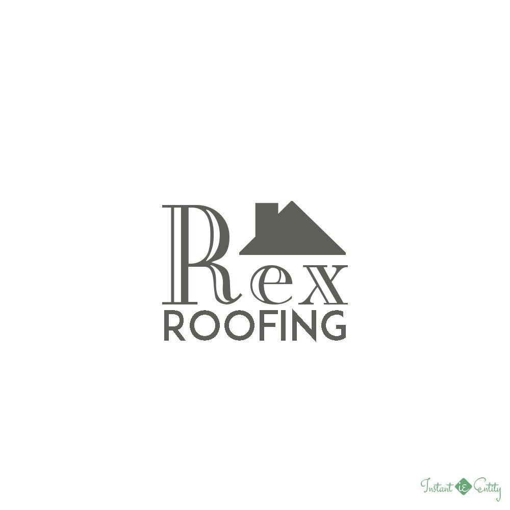 Roofer Roofing Logo Design Roofing Logo Logo Design Beautiful Logos Design