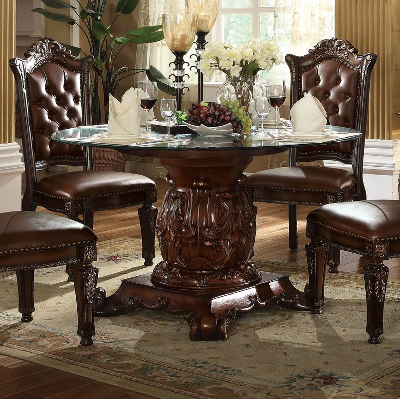 Welles Traditional Dining Table In 2020 Traditional Dining