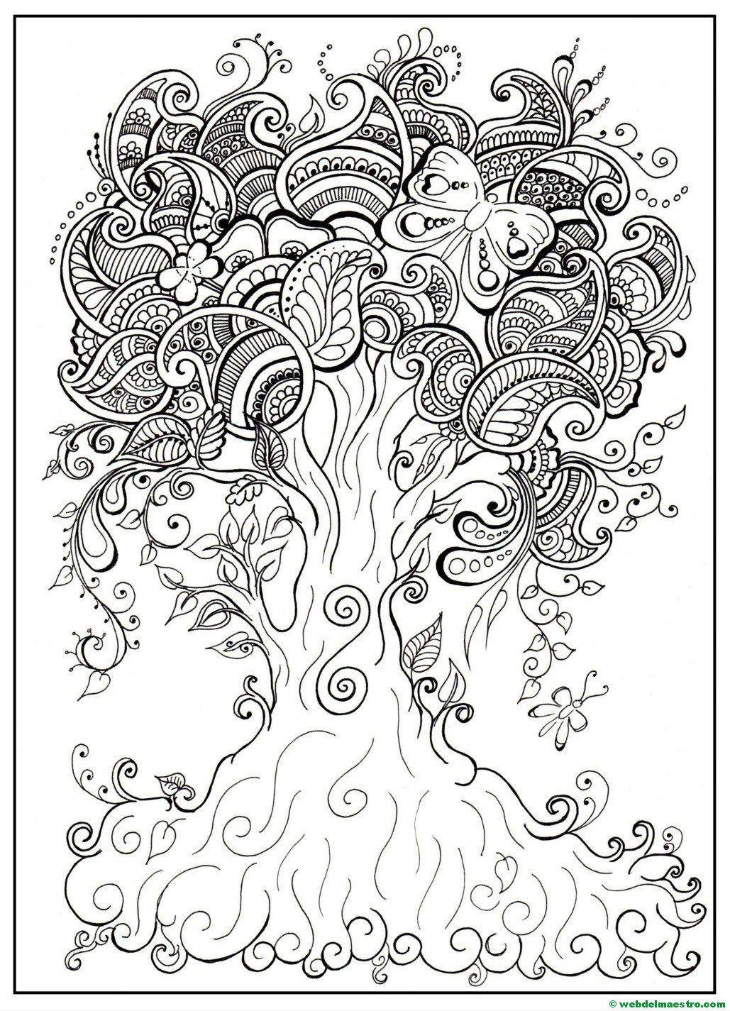 Dibujos Antiestres Con Imagenes Mandalas Para Colorear Pdf