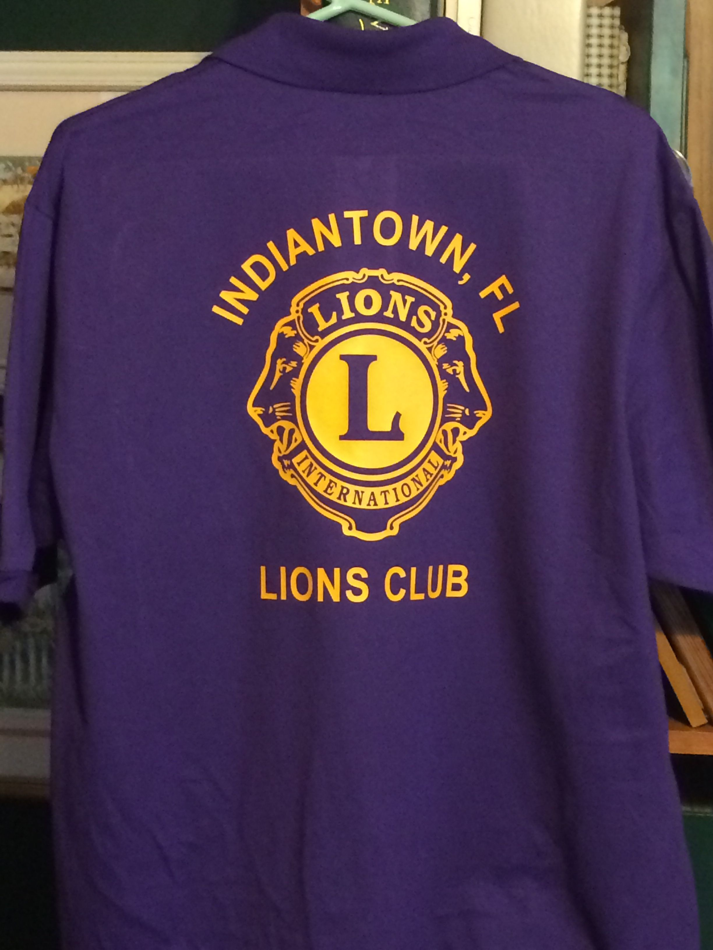 Custom Shirt For A Local Lions Club Member Do You Need Custom Shirts