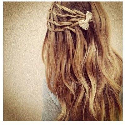 Mini braids.