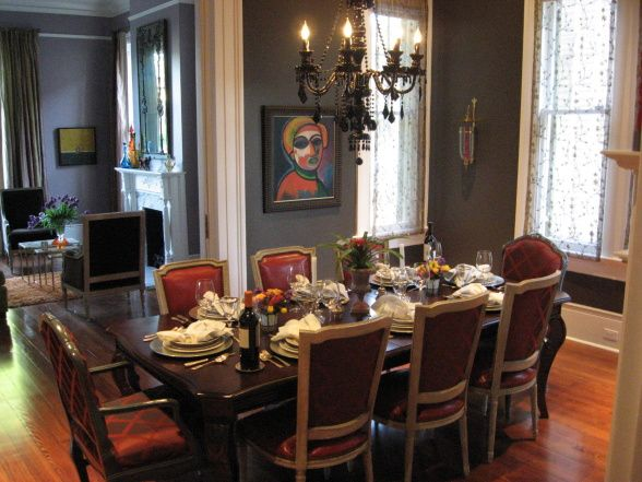 New Orleans Style This Is The Dining Room Of Our Recently Restored 1887 New Orleans Home Original Pocket Doors S New Orleans Decor Decor French Style Homes