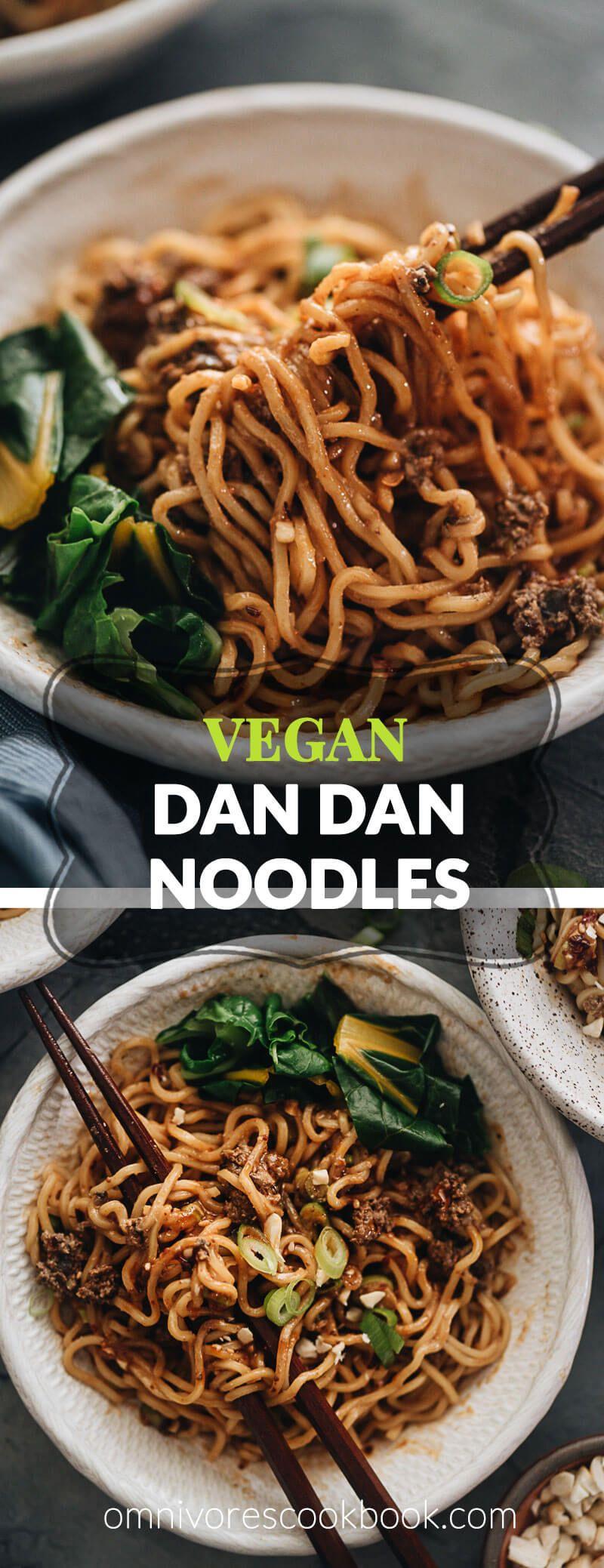 Vegan Dan Dan Noodles | Omnivore's Cookbook