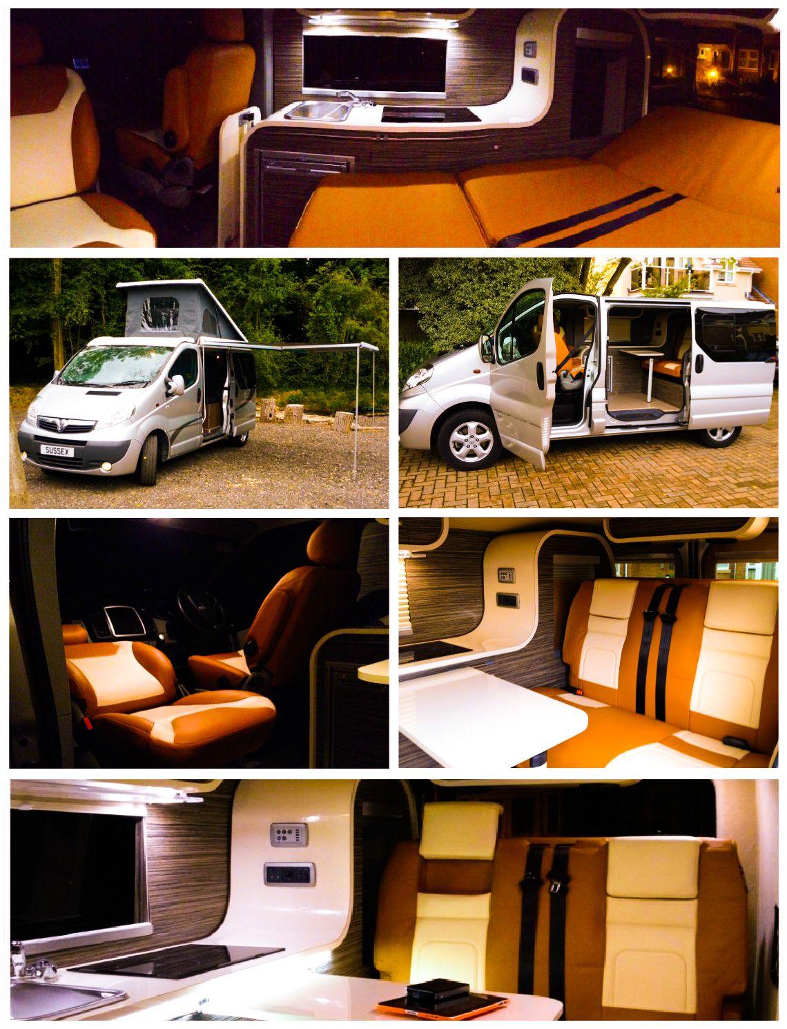 61 vauxhall vivaro sportive camper van 147ps luxury camper suv conversion http