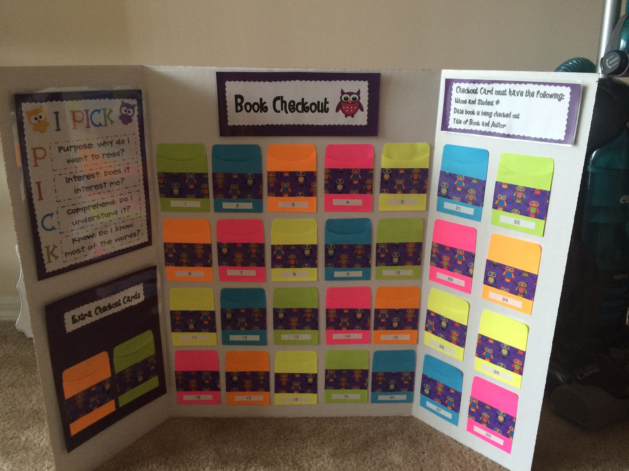 Classroom Library Ideas : Classroom library checkout system ideas