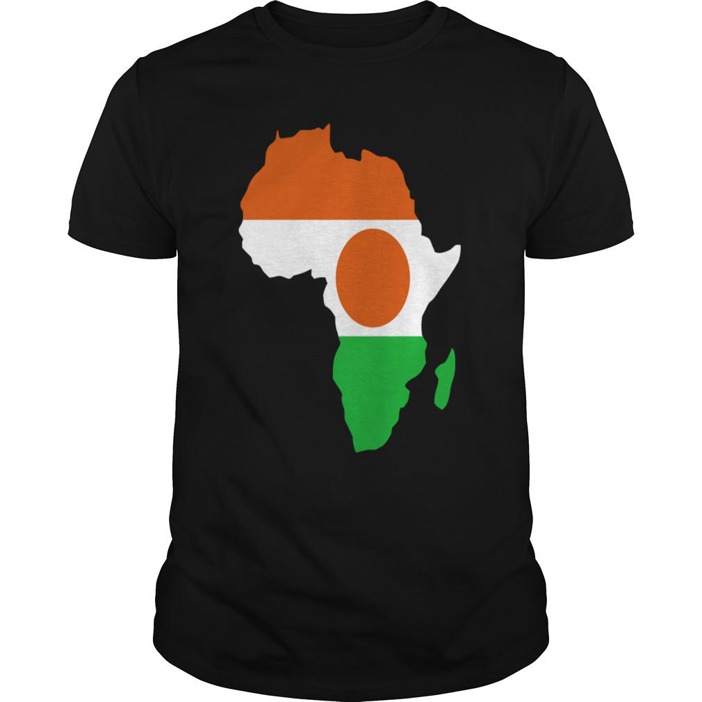 Niger Flag In Africa Map T Shirt T Shirt | Project MOM ... on custom socks, custom racing shirts, custom denim shirts, custom cartoon shirts, custom men's jackets, custom pens, custom hoodies, custom apparel, custom polo shirts, custom skateboards, custom cars, custom printed shirts, custom pants, custom sports shirts, custom wicking shirts, custom boyfriend shirts, custom undershirts, custom tie dye shirts, custom mens shirt, custom jeep shirts,