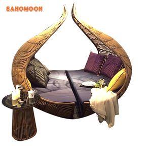 Source alibaba outdoor furniture rattan/wicker weave like ...