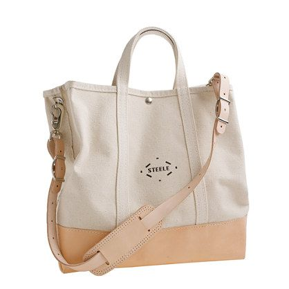 Steele Canvas Basket Co. for J. Crew! Amazing tote bags from a ...